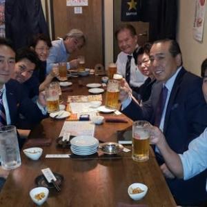 人形町「合屋」で関東沖縄経営者協会の理事会