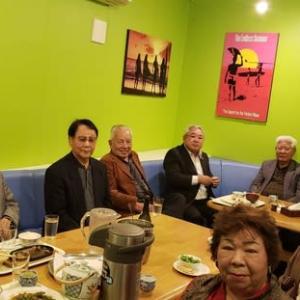 「沖縄在住奄美・瀬戸内町会出身先輩」との出会いに感激!