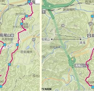 春探し山行(東高尾山陵)