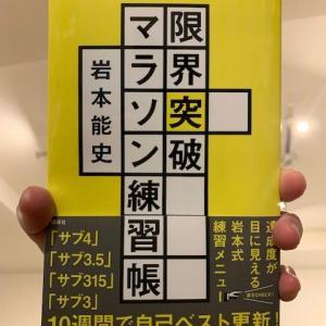 東京マラソン2020に向け、本格始動。