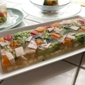 【募集】オンライン親子クッキング@コンソメ風味の野菜のゼリー寄せ