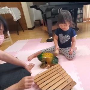 【開催レポ】2021.7.10.Babymusicマンツーマンレッスン