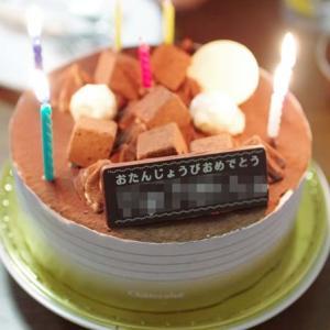 ちびのお誕生日フェア3~最後にやっとケーキ~