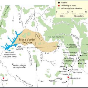 プエブロとメキシコの繋がり(1)メサ・ベルデとココペリから見る