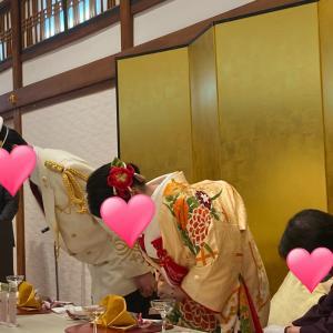 成婚会員様の結婚式に出席いたしました②