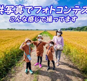 子供写真でフォトコンテスト♪こんな感じで撮ってます