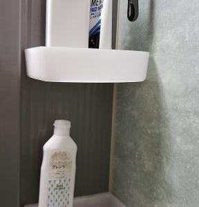 ニトリのカトラリーボックスを浴室で使っています