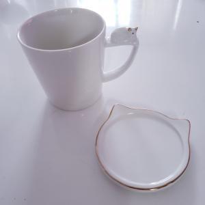 白いマグカップで気分転換