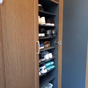 靴箱の衣替え