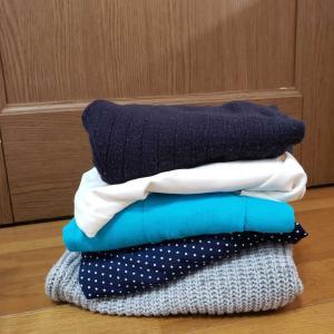 春服購入前に服を減らす