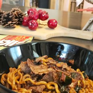 チャパグリ、トック、韓国料理は片付けの味方!?