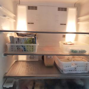 冷蔵庫、買い物前に掃除しよう!