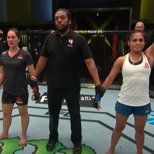 【UFC ESPN10】シンシア・カルヴィーロがジェシカ・アイに判定勝利