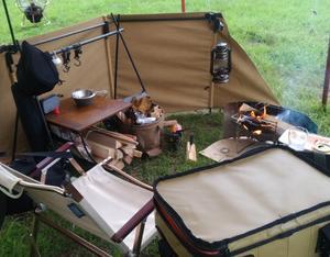 ソロのキャンプ飯。 超人気キャンプ場で完ソロ