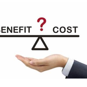 投資のコスト効果の考え方
