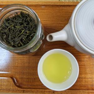 ホットプレートで手揉み茶作りました!