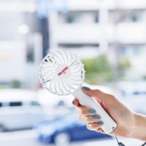 付録★驚愕!!今流行りのミニ扇風機が登場