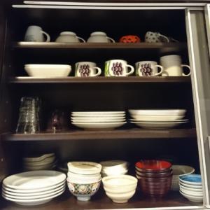 【食器棚の整理】整理収納AD2級認定講座受講後の気づき
