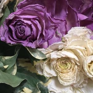 ドライフラワー、バラに似ているけど違う花。