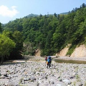 カウンナイ沢~トムラウシ山