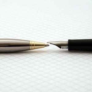 履歴書作成で書くときのボールペンの太さは?