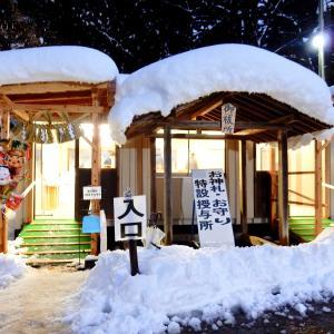 阿賀野市・瓢湖〜旦飯野神社
