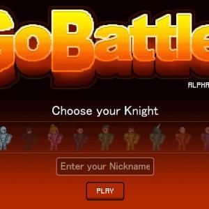 武器をぶつけてオンライン対戦 GoBattle.io