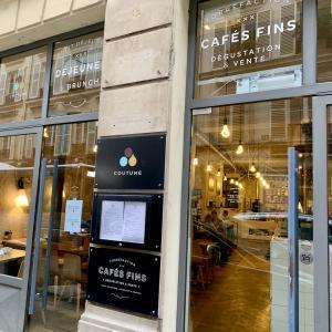 パリ大好きなカフェcoutume