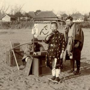 1898年 おでんの屋台