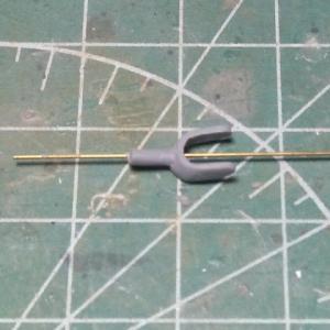 クラシックエアフレーム1/48 イ式重爆撃機製作記 その15 やっとこさの三点姿勢(アクシデントを乗り越えろ!)