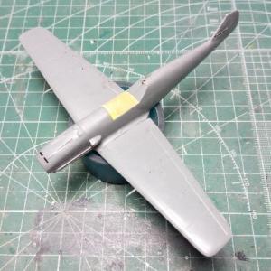 """ハセガワ1/72 メッサーシュミットBf109E-3""""スペイン空軍""""製作記 #3"""