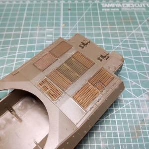 ファインモールド1/35 陸自61式戦車製作記 その4