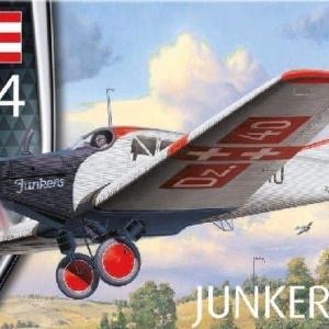 本日の到着キット(2020-16・17)「ドイツレべル1/72 ユンカースF.13」「RSモデル1/72 ブロム & フォス Ae607 ルフトヴァッフェ1945」