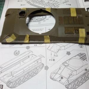 ファインモールド1/35 陸自61式戦車製作記 その8