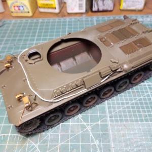 ファインモールド1/35 陸自61式戦車製作記 その9