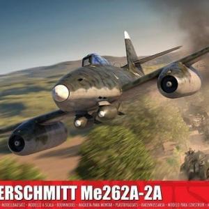 本日の到着キット(2020-21)「エアフィックス1/72 メッサ―シュミットMe262A-2a」