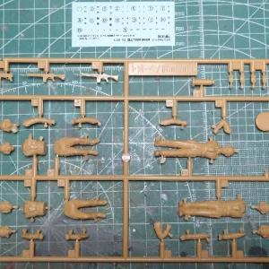 ファインモールド1/35 陸自61式戦車製作記 その12 フィギュア編1&塗装編2