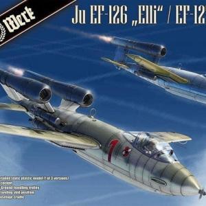 本日の到着キット(2020-31)「ダス・ヴェルク1/32 ユンカースJu EF-126「エリ」 / EF-127「ウォーリー」」