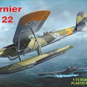 本日の到着キット(2020-32)「RSモデル1/72 ドルニエ Do22 フィンランド空軍」