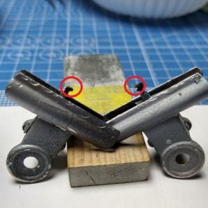ブレンガン1/48&1/72 メッサーシュミットMe P-1103 製作記 その3 塗装開始