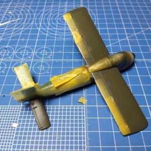 ブレンガン1/48&1/72 メッサーシュミットMe P-1103 製作記 その4 塗装終了