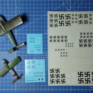 ブレンガン1/48&1/72 メッサーシュミットMe P-1103 製作記 その5 完成