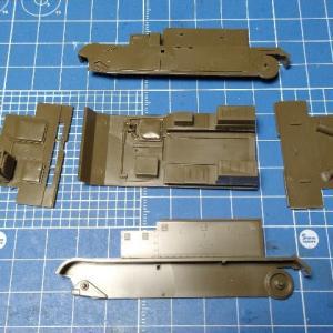 タミヤ/48 イギリス・ブレンガンキャリヤーMk.II 製作記 その2 基本塗装