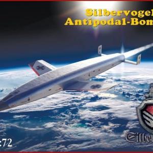 本日の到着キット(2021-22) 「ミクロミル(AMP)1/72 ゼンガー・ジルバーフォーゲル対蹠地爆撃機」