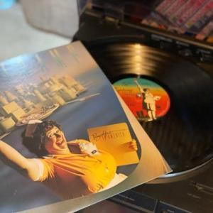 レコードとか食べたのとか。。