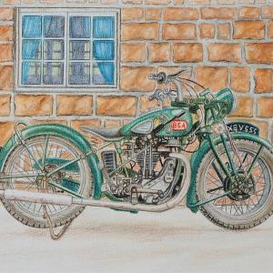イギリス・クラシックバイクと映画「大脱走」