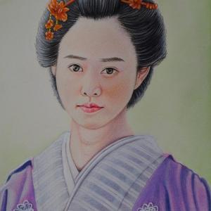 天璋院篤姫に扮する「高畑充希」