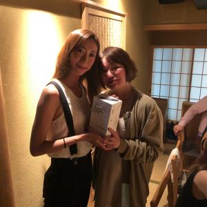 二子玉川「せき亭」にて5月6月7月生まれのスタッフのお誕生日会をしました
