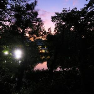 神泉苑の名月観賞