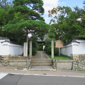 源光庵のススキ、光悦寺のモミジ